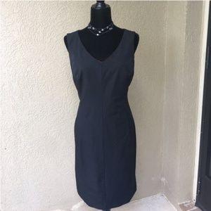 🆕Isaac Mizrahi black sheath dress